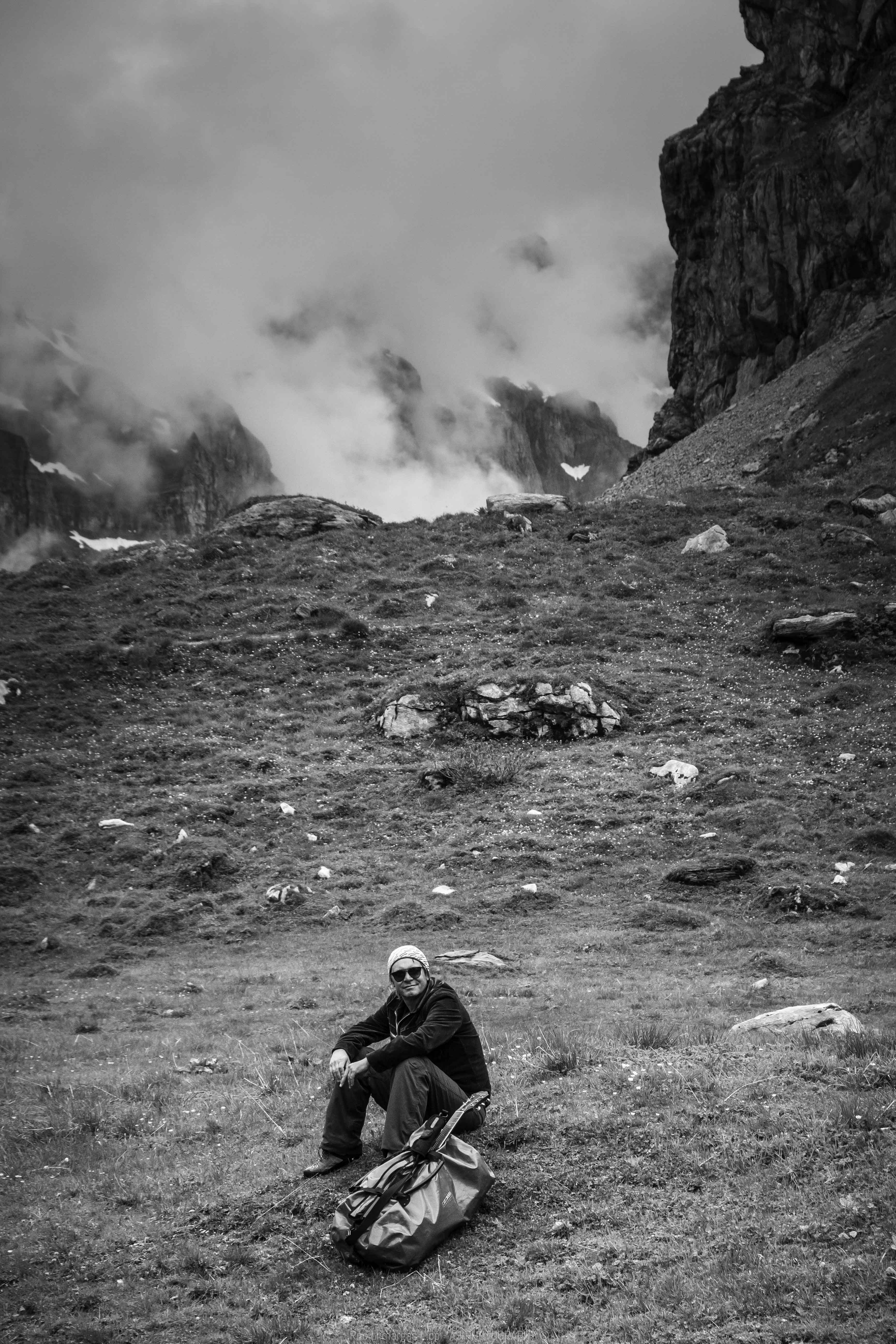 Recording in Clausenpass (2)